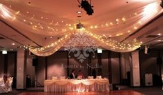 ceiling draping for weddings adelaide - Google Search