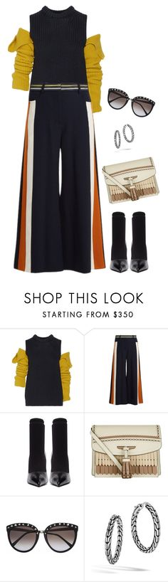"""""""Untitled #3753"""" by elia72 ❤ liked on Polyvore featuring Calvin Klein 205W39NYC, Peter Pilotto, Balenciaga, Burberry and John Hardy"""