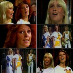 """On the 25th May 1975 Abba were in France recording a performance of their single """"I Do, I Do, I Do, I Do, I Do"""" for the TV show """"Ring Parade"""" #Abba #Agnetha #Frida http://abbafansblog.blogspot.co.uk/2017/05/25th-may-1975.html"""