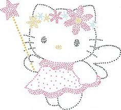 Engel Hello Kitty | Hello Kitty | glittermotifs