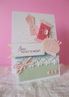Clare's creations: Nina B Designs - First Blog Hop!