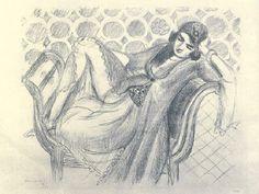 Repos sur la banquette, 1929, Henri Matisse
