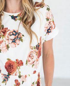 Floral Empire Dress