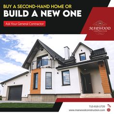 Consult with a general contractor to know if you should invest in a new building or buy a resale property. Here are some important factors you must consider. General Contractors, Two Hands, Factors, Investing, Construction, Cabin, House Styles, News, Building