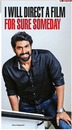 Rana Daggubati Rana Daggubati, Telugu, India, Bollywood, Handsome, Passion, Actors, Superhero, Film
