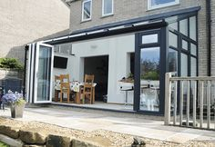 Glass Extension style uPVC conservatories by Academy Home Improvements Berkshire, Hampshire and Surrey