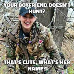The truth hurts.-The truth hurts…real men love hunting. The truth hurts…real men love hunting. Funny Hunting Pics, Deer Hunting Humor, Girl Hunting Quotes, Hunting Jokes, Hunting Girls, Funny Deer, Women Hunting, Hunting Pictures, Hunting Stuff