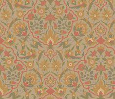 Serpentine 607c fabric by muhlenkott on Spoonflower - custom fabric