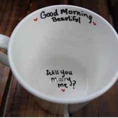 Will You Marry Me Mug- Unique Proposal Ideas Marry Me Moving Away Long Distance Relationship Graduation Army New Job Cute Proposal Ideas, Perfect Proposal, Proposal Photos, Romantic Proposal, Wedding Events, Our Wedding, Destination Wedding, Wedding Ideas, Wedding Poses