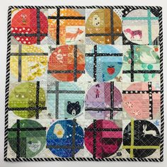 Finished and gifted this mini turbine quilt! #turbinequilt #miniturbinequilt #jencbforever #sewallthecurves