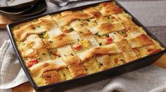 Twenty minutes of prep time and a crescent dough lattice crust makes this pot pie the definition of easy-yet-impressive.