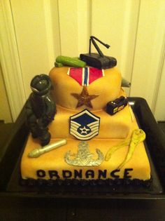 EOD Retirement Cake