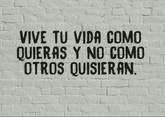 #vive Live Life, Thoughts
