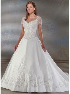 Princess cut wedding dresses