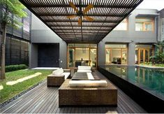 Courtyard House Design Ideas - PattJudd