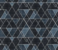 Indigo Triangles by crystal_walen