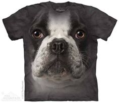 PRIKID - French Bulldog Face T-Shirt, €35.00 (http://prikid.eu/french-bulldog-face-t-shirt/)