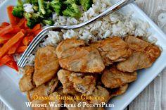 Orange Chinese Chicken - Weight Watchers 6 PointsPlus