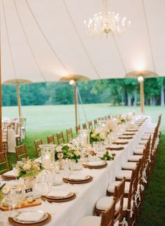 Elegant Tent Wedding | photography by http://www.jenfariello.com/