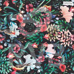 DP0706 | Arte Floral | RVB Prints | Estamparia Digital | FITNESS