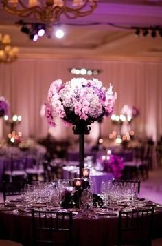 Tall wedding centerpieces by Maiden11976