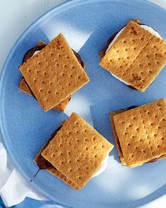 Want a late night treat and dont want to eat the assorted chocolates you dont like. Take graham crackers, smudge the chocolate onto the cracker, place half a marshmellow flattening it over the chocolate. Have oven preheate to 350 for three minutes for chocolate to melt. Turn on lo broil to brown marshmellow. Place top graham right after removing from oven. My special recipe. -Maggiemaysmores