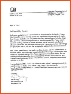 Lor Rec Letter For Graduate School Finance  Sample Letter