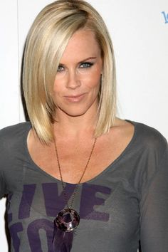 Does anyone have product recs for this hairstyle? My hair texture is medium thickness and naturally wavy (easy to straighten with flat iron). My Hairstyle, Pretty Hairstyles, Bob Hairstyles, Love Hair, Great Hair, Amazing Hair, Jenny Mccarthy Hair, Bob Haircut Back View, Medium Hair Styles