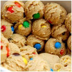 cookie dough balls mmm