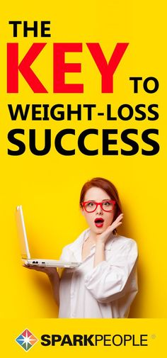 Find out the key to weight-loss success (it's pretty simple)!