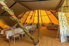 Make you wedding day extra special with a tipi wedding. Our wedding tipis can cater up to 500 guests and our tipis are perfect for both summer and winter weddings.