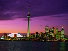 Toronto Skyline at Night, Canada Vacation Places, Places To Travel, Places To Go, Vacation Ideas, Yosemite National Park, National Parks, Toronto Skyline, Greater Toronto Area, Places Ive Been