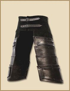Larp Leather Armor Albrecht Tassets Thevikingstore Co Uk