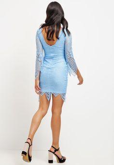 Rare London Sukienka koktajlowa - cornflower blue za 299 zł (20.07.16) zamów bezpłatnie na Zalando.pl.