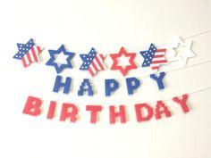 American national flag●バースデーガーランドセット●星条旗柄/アメリカ国旗●アイロンビーズ | ハンドメイド、手作り作品の通販 minne(ミンネ)