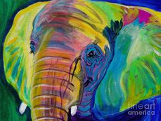 Elephant - Pachyderm Painting by Alicia VanNoy Call - Elephant - Pachyderm Fine Art Prints and Posters for Sale