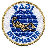 PADI DIVEMASTER