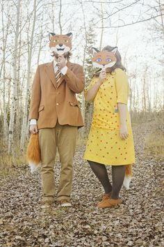 Fantastic Mr. Fox Costumes | like-the-cheese.com