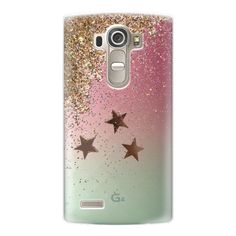 SHAKY STARS for all LG phones by Monika Strigel - iPhone 7 Case,... (£33) ❤ liked on Polyvore featuring accessories, tech accessories and android case