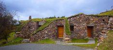 Hobbit Erdhaus in Schottland - Der Eingangsbereich ©Reiner Luyken
