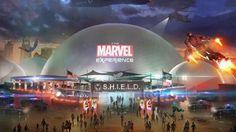 Marvel dévoile son parc d'attraction