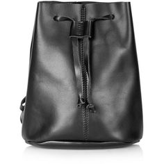 25399cb954 Topshop Leather Backpack (235 BRL) ❤ liked on Polyvore featuring bags