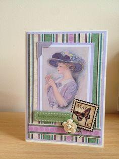Digi image, mother's day card.