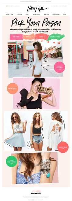 nasty gal emails - Bing Images