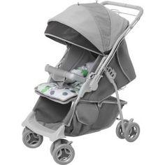 Carrinho de Bebê Galzerano Maranello Cinza     Carrinho 2 em 1: função berço e função passeio.