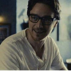 James McAvoy ... I don't approve of his lifestyle choice, but he does look good in glasses.
