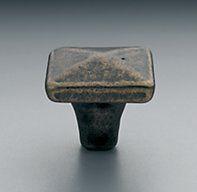 "Dakota Square Knob 1""-1.25"" $9-$11 restoration Hardware, use these knobs or similar for kitchen cabinets."