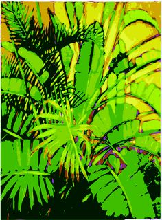 Bright Palms Painting