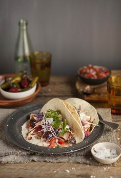 Salmon rubbed with coffee and spice makes this fish taco anything but ordinary.