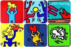 Kids Art Class, Art For Kids, Pop Art, Keith Allen, Walt Disney Cartoons, Keith Haring Art, Group Art Projects, The Wedding Singer, Ecole Art